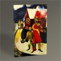 Tablo 360 Marc Chagall The Fiddler Tablo 45X30