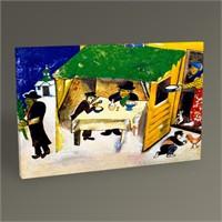 Tablo 360 Marc Chagall The Poet Reclining Tablo 45X30