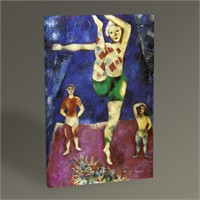 Tablo 360 Marc Chagall The Three Acrobats Tablo 45X30