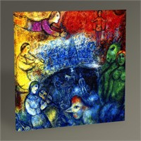 Tablo 360 Marc Chagall The Grand Parade Tablo 30X30