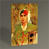 Tablo 360 Osman Hamdi Bey Kadın Portresi Tablo 45X30