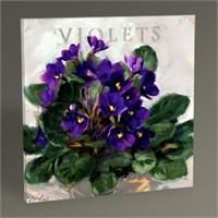 Tablo 360 Violets Tablo 30X30