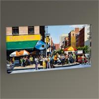Tablo 360 Şehirde Yaşam Tablo 60X30