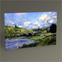Tablo 360 Claude Monet Vetheuil Tablo 45X30