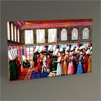 Tablo 360 Venedik Elçisinin Sadrazam Tarafından Kabulü 45X30