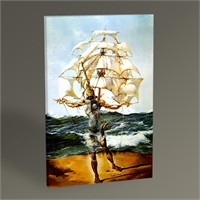 Tablo 360 Salvador Dali-The Ship 45X30