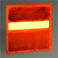 Tablo 360 Mark Rothko No.8 Tablo 100X100