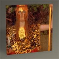Tablo 360 Gustav Klimt Pallas Athene Tablo 30X30