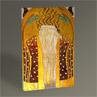 Tablo 360 Gustav Klimt Beethoven Frieze Tablo 45X30