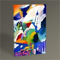 Tablo 360 Wassily Kandinsky Church İn Murnau 45X30