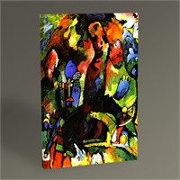 Tablo 360 Wassily Kandinsky Picture With An Archer 45X30