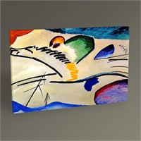 Tablo 360 Wassily Kandinsky Lyrisches Tablo 45X30
