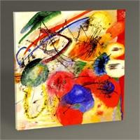 Tablo 360 Wassily Kandinsky Black Strokes 30X30