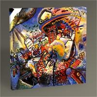 Tablo 360 Wassily Kandinsky Moskau Tablo 30X30