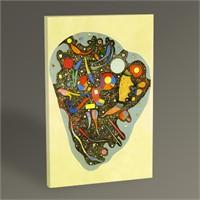 Tablo 360 Wassily Kandinsky Colourful Ensemble 45X30