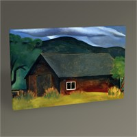 Tablo 360 Georgia O'keeffe My Shanty, Lake George 45X30
