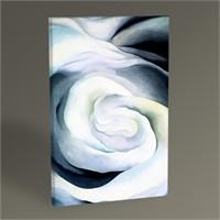 Tablo 360 Georgia O'keeffe Abstraction White Rose 45X30