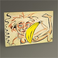 Tablo 360 Keith Haring Untitled 45X30