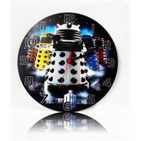 Köstebek Dr.Who - Dalek Ahşap Duvar Saati
