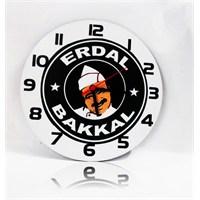 Köstebek Erdal Bakkal Ahşap Duvar Saati