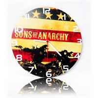 Köstebek Sons Of Anarchy Ahşap Duvar Saati