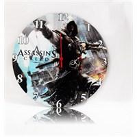 Köstebek Assasin's Creed Ahşap Duvar Saati