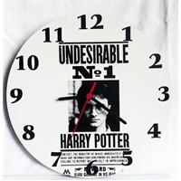 Köstebek Harry Potter - Undesırable Ahşap Duvar Saati