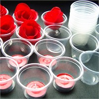 Happy Candle 100 Adet Tea Lights Mum Kabı Mm08