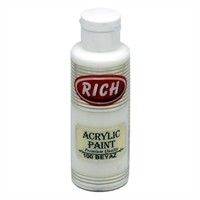 Rich Akrilik Boya 130 Cc Beyaz