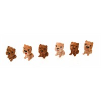 Atadan Köpek Mini Heykel-20 Adet