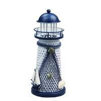 Evo Nord Işıklı Dekoratif Metal Deniz Feneri