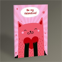 Tablo 360 Pink Cat Tablo 45X30
