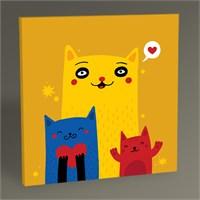 Tablo 360 Cats Tablo 30X30
