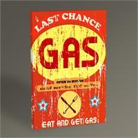 Tablo 360 Benzin İstasyonu Afişi Tablo 45X30