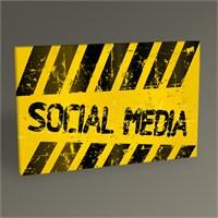 Tablo 360 Sosyal Medya Tablo 45X30