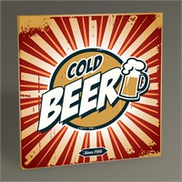 Tablo 360 Cold Beer Tablo 30X30