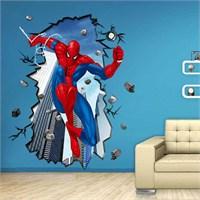 Modakedi Örümcek Adam Spiderman 3 Boyutlu Duvar Stickerı