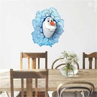 Modakedi 3D Olaf Karlar Ülkesi Duvar Stickerı