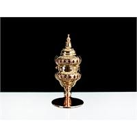 Lucky Art Gold Kapaklı Tilaytlık - 23 Cm