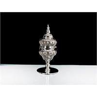 Lucky Art Gümüş Kapaklı Tilaytlık - 23 Cm