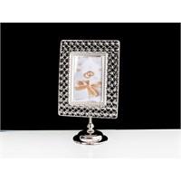 Lucky Art Gümüş Kristalli Çerçeve - 36Cm