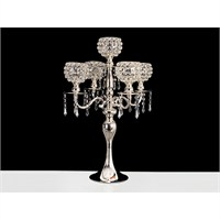 Lucky Art Gümüş Kristalli 5'Li Tilaytlık - Me099