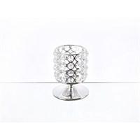 Lucky Art Gümüş Kristalli Ayaklı Tilaytlık - Me 075