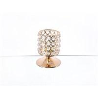 Lucky Art Gold Kristalli Ayaklı Tilaytlık - Me044