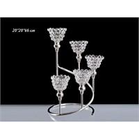 Lucky Art Gümüş Kristalli 5'Li Tilaytlık - Me019