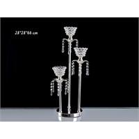 Lucky Art Gümüş Kristalli 3'Lü Tilaytlık - Me015