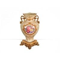 Lucky Art Krem Gold Vazo - Fx 045