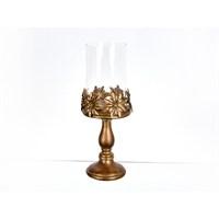 Lucky Art Bronz Camlı Masaüstü Dekor - Pw 017