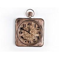 Lucky Art Bronz Mekanizmalı Duvar Saati - Uc 015