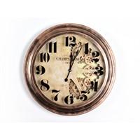 Lucky Art Bronz Mekanizmalı Duvar Saati - Uc 014